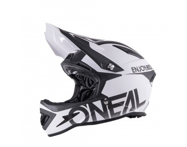 O´NEAL WARP - casco integrale black/white