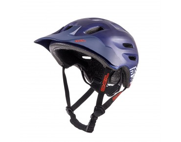 O´NEAL DEFENDER - casco dark blue/red