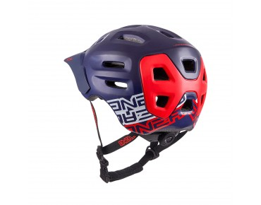 O´NEAL DEFENDER helmet dark blue/red