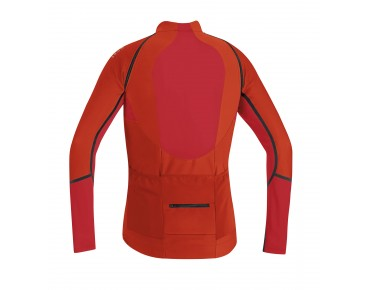 GORE BIKE WEAR ALP-X PRO WS SO Zip-off jersey orange.com