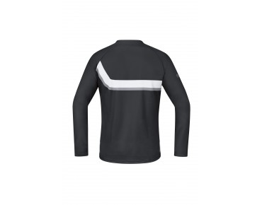 GORE BIKE WEAR POWER TRAIL long-sleeved cycling shirt black