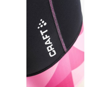 CRAFT VELO SHORTS women's cycling shorts black/geo pop
