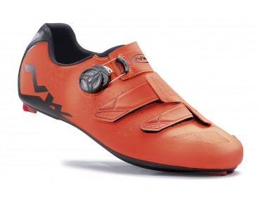 NORTHWAVE PHANTOM CARBON road shoes lobster orange/black