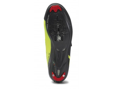 NORTHWAVE PHANTOM CARBON Rennrad Schuhe black/yellow fluo
