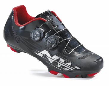 NORTHWAVE BLAZE PLUS MTB Schuhe black/white/red
