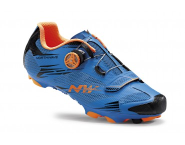 NORTHWAVE SCORPIUS 2 PLUS MTB shoes blue/orange