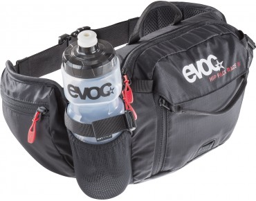 evoc HIP PACK 3L incl. 1,5 l hydration bladder black
