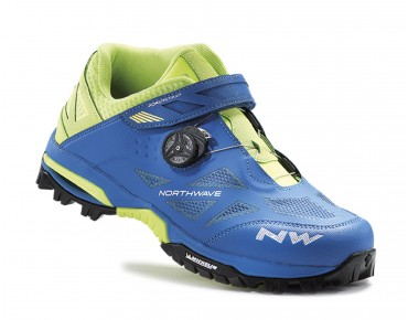 NORTHWAVE ENDURO MID MTB/trekking shoes blue/yellow fluo