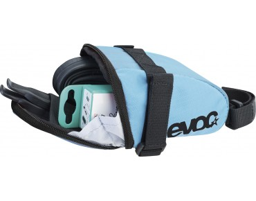 evoc SADDLE BAG neon blue