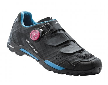 NORTHWAVE OUTCROSS PLUS women's trekking shoes black/blue