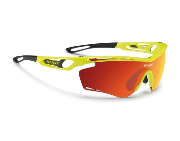 RUDY PROJECT TRALYX Sportbrille yellow fluo gloss/multilaser orange