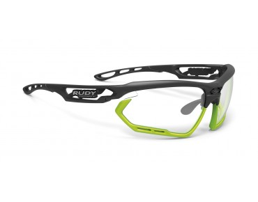 RUDY PROJECT FOTONYK lunettes de sport matte black-bumpers lime/impactX photochromic 2 black