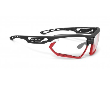 RUDY PROJECT FOTONYK sports glasses matte black-bumpers red fluo/impactX photochromic 2 black