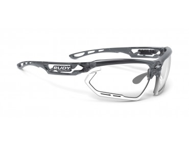 RUDY PROJECT FOTONYK lunettes de sport crystal graphite-bumpers white/impactX photochromic 2 black