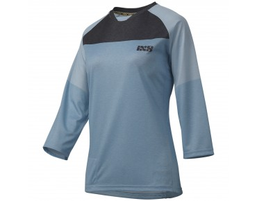 iXS VIBE 6.1 women's bike shirt ¾ sleeve brisk blue