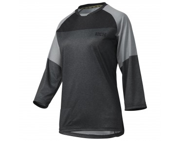 IXS VIBE 6.1 women's bike shirt ¾ sleeve graphite