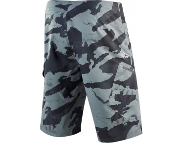FOX RANGER CARGO cycling shorts incl. inner pants camo grey