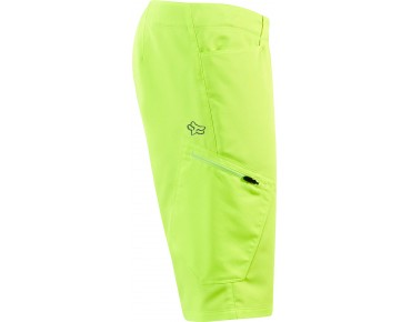 FOX RANGER CARGO cycling shorts incl. inner pants flo yellow