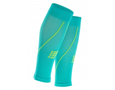 cep CALF SLEEVES 2.0 compression sleeves lagoon/lime