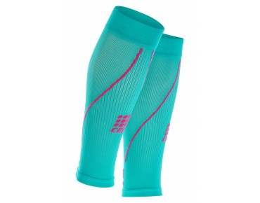 cep CALF SLEEVES 2.0 women's compression sleeves lagoon/pink