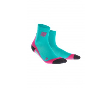 cep SHORT women's socks lagoon/pink