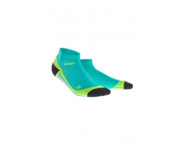cep LOW CUT socks lagoon/lime