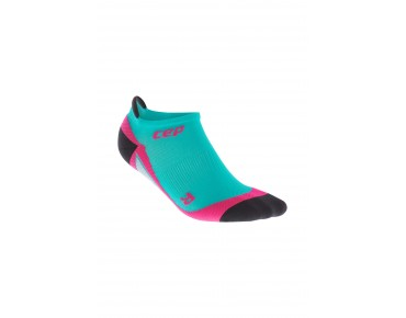 cep NO SHOW women's socks lagoon/pink