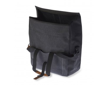 BASIL URBAN DRY BUSINESS BAG Fahrradtasche charcoal melee