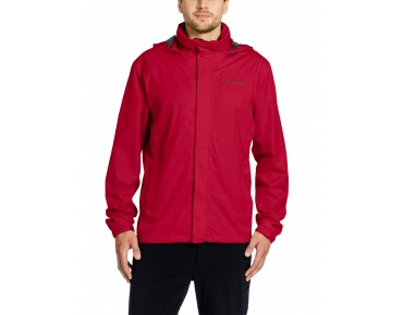 VAUDE ESCAPE BIKE LIGHT JACKET waterproof jacket indian red