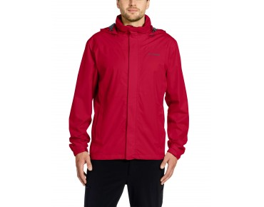 VAUDE ESCAPE BIKE LIGHT JACKET regenjack indian red