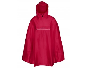VAUDE VALDIPINO PONCHO Regenponcho indian red