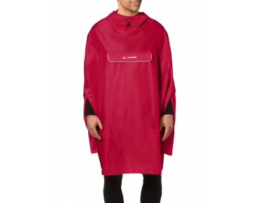 VAUDE VALDIPINO rain poncho indian red