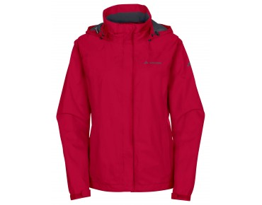 VAUDE ESCAPE BIKE LIGHT JACKET women's all-weather jacket indian red