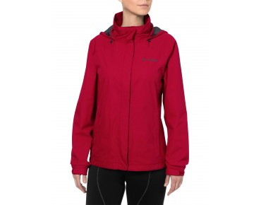 VAUDE ESCAPE BIKE LIGHT JACKET all-weather damesjack indian red