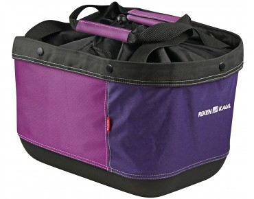 KLICKfix SHOPPER ALINGO GT rear bicycle basket for racktime blackberry