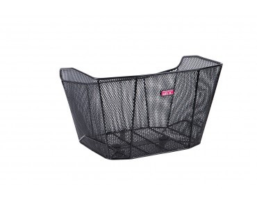 Unix VINELLO rear bicycle basket for permanent installation schwarz