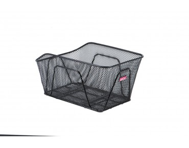 Unix REMIGO rear bicycle basket for permanent installation black