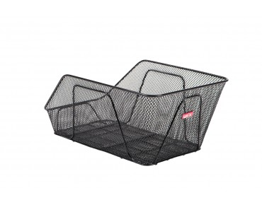 Unix REMERO rear bicycle basket for permanent installation schwarz
