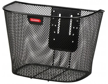 KLICKfix FESTKORB E front bicycle basket black