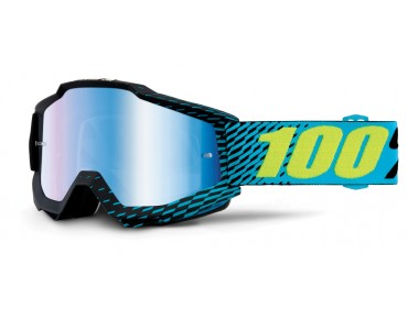 100% ACCURI MIRROR goggles R-CORE/mirror blue