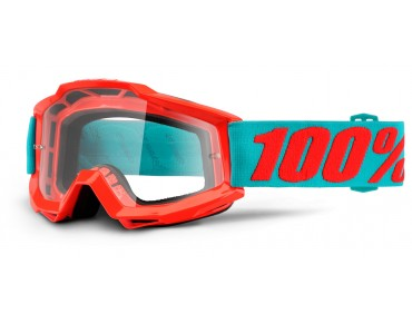 100% ACCURI Goggle PASSION ORANGE