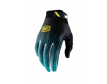 100% RIDEFIT gloves supra teal