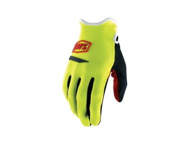 100% RIDECAMP gloves day-glo yellow