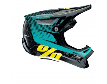 100% AIRCRAFT - casco integrale R-CORE teal