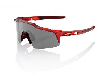 100% SPEEDCRAFT STD glasses red/smoke