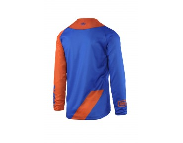 100% R-CORE SUPRA DH long-sleeved cycling shirt royal