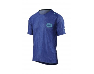 100% CELIUM AM cycling shirt blue heather