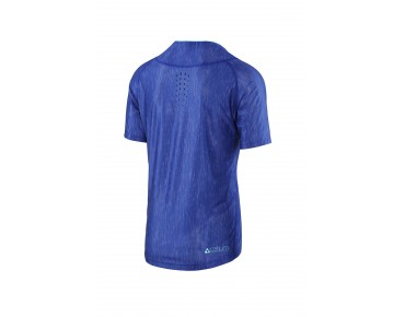 100% CELIUM AM Bikeshirt blue heather