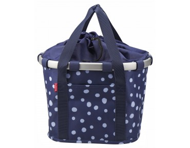Reisenthel BIKEBASKET handlebar bag with KLICKfix mount spots navy