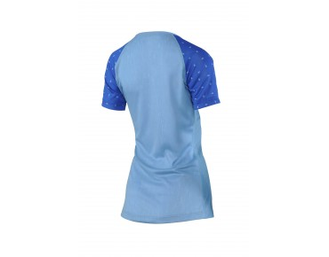 100% AIRMATIC SKYLAR women's cycling shirt blue heather